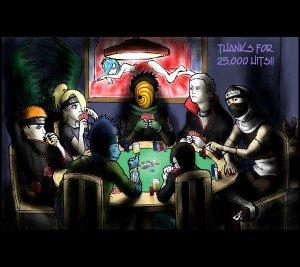 L'akatsuki au poker